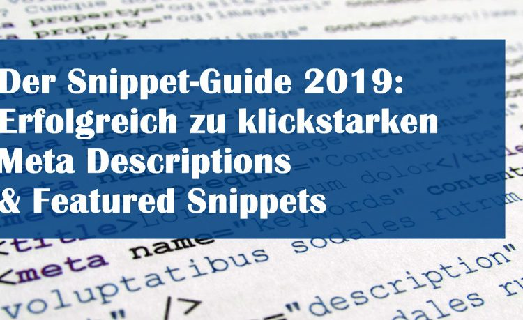Featured Snippets der Snippet Guide | SEO Bavaria