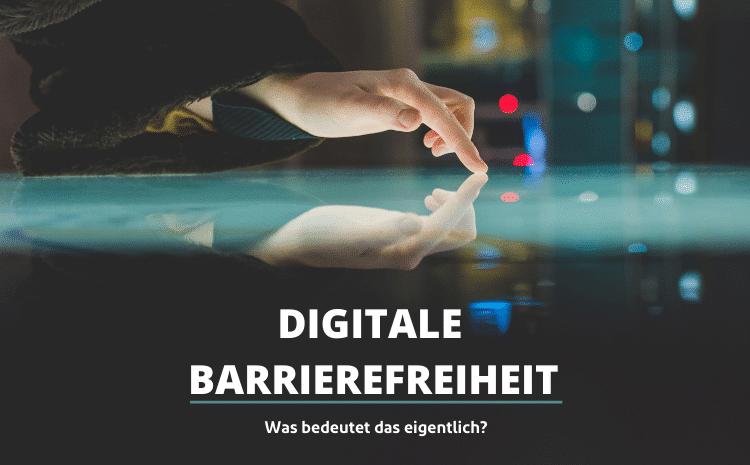 Digitale Barrierefreiheit