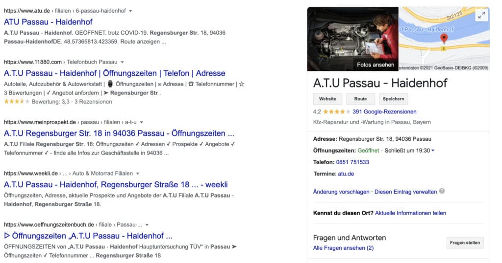 SEO Bavaria Google My Business Eintrag Systeme