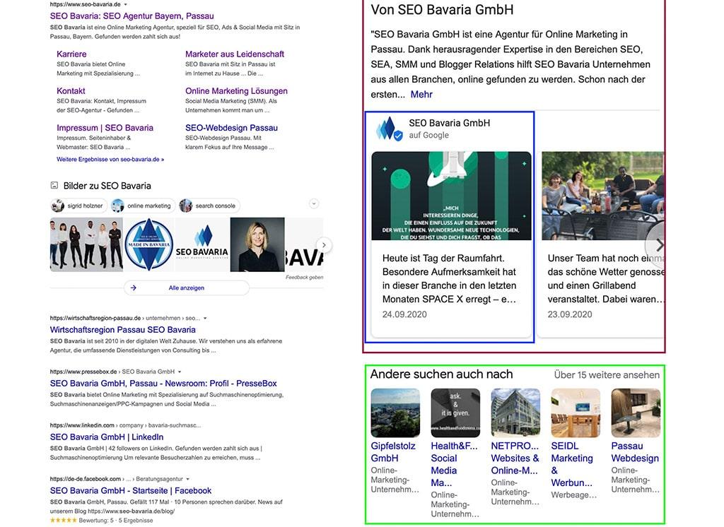 SEO Bavaria Google My Business Eintrag Optimierung