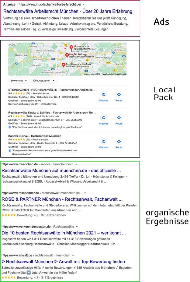 SEO Bavaria Google My Business Eintrag Website